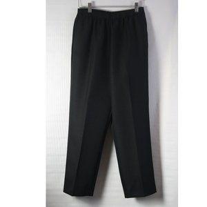 NWT Petite Black Pull-On Pants